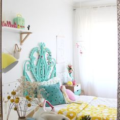 Kids bedroom ideas with a hint of vintage by four cheeky monkeys