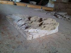 Terrakottafliesen sauber machen und mit Kalkmörtel verlegen