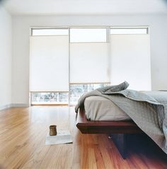 shot-trot house - bed