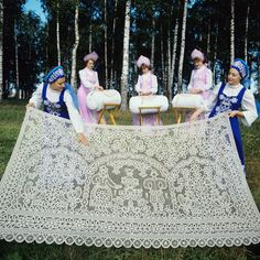Vologda laces: An extravagance still close to Russians' hearts