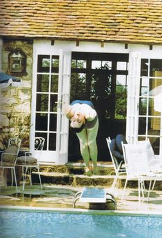 Diana diving at Althorp