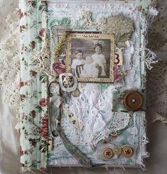 "Artbook из ткани ""Сестры"" - Paper house"