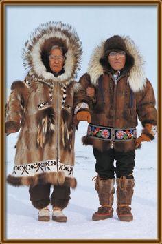 .Beautiful fur coats
