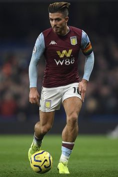 🤤⚽️ — •request• jack grealish 😍 Soccer Guys, Football Players, Dean Smith, Hot Men Bodies, Big Calves, M Jack, Jack Grealish, England Football, Aston Villa