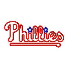 Pennsylvania Philadelphia Phillies Baseball Logo Machine Embroidery includes BOTH Stitched AND Applique Designs in Tons Sizes. $2.99, via Etsy. Applique Designs, Embroidery Designs, Embroidery Applique, Machine Embroidery, Commercial Embroidery Machine, Phillies Baseball, Team Mom, Philadelphia Phillies, Pennsylvania