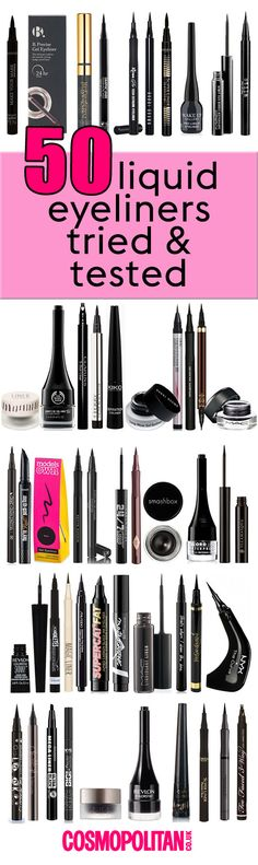 We've reviewed the best (and worst) liquid eyeliners so you don't have to!