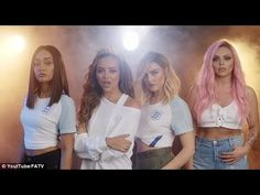 Little Mix team up England women stars in new video - MulluTV