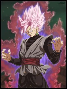 Black Goku - Super Saiyan Rose by belucEn on @DeviantArt