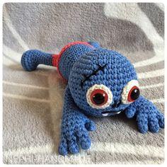 Häkelanleitung Zombie Beppo  #crochet #crochetpattern #häkelanleitung #nephihandmade