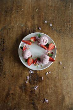 glace025 Glace à la fraise