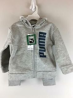 (Sponsored)eBay - Unisex Toddler Kids Puma 2 Piece Jacket/Sweatpant Set, Size 2T... - #jacket #JacketSweatpant #kids #piece #puma #set #size #sponsored #SponsoredeBay #sweatpant #toddler #unisex Blue Grey, Adidas Jacket, Kids Outfits, Online Price, Sweatpants, Children Clothing, Unisex, Hoodies, Best Deals