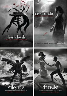 Hush, Hush Series by Becca Fitzpatrick (Finale Release Date October 23, 2012).The books that kicked off my reading addiction! :)
