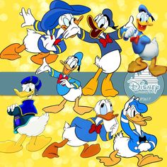 Donald Duck Digital Paper DP3617