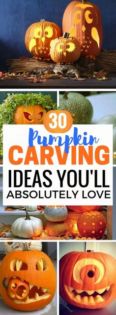 Don't you just love Halloween and Pumpkin Carving diy crafts? I'm so PUMPED to try out these awesome easy DIY pumpkin carving ideas. You're gonna LOVE how amazing these pumpkins will make your home decor look! Check out the last five, you'll be shocked!