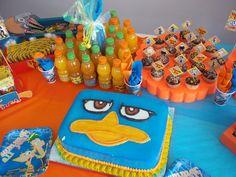 """Photo 5 of Phineas Ferb / Birthday """"Esteban 6 Party"""" 5th Birthday Party Ideas, Boy Birthday Parties, 7th Birthday, Birthday Celebration, Birthday Cake, Phineas Und Ferb, Cupcake Cakes, Kid Cakes, Cupcakes"""