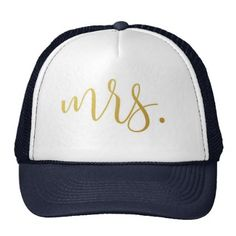 2c8f105be67 Mrs. Wedding Bride Trucker Hat
