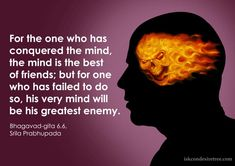 Quotes by Bhagavad Gita on Mind