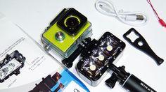 Подводный фонарь для экшн камеры, посылка из Китая