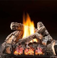 littleton co fireplace tech install of gas logs Ventless Gas Logs, Propane Fireplace, Fireplace Outdoor, Fireplace Ideas, Fireplaces, Outdoor Fire, Outdoor Decor, New Homes, Living Room