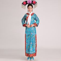 qing dynasty clothing - Google Search