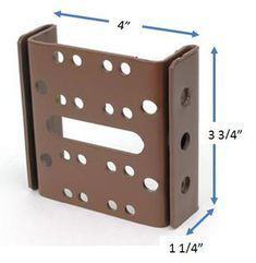 Items similar to Bed Frame to Bed Post Double Hook Bracket for Multiple Bed Sizes on Etsy Outside Furniture, Furniture Legs, Bed Hardware, Bed With Posts, Sofa Legs, Bed Rails, Bed Mattress, Double Beds