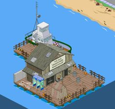 What have you done with the Old Abandoned Warehouse? Springfield Simpsons, Springfield Tapped Out, The Simpsons Game, Abandoned Warehouse, What Have You Done, Electronic Art, Willis Tower, Game Design, Old Things