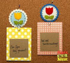 Huisvolkleur: Paper clip - Felt