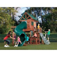 Superior Colorado Wooden Playset @ Academy $699 | Backyard | Pinterest |  Wooden Playset
