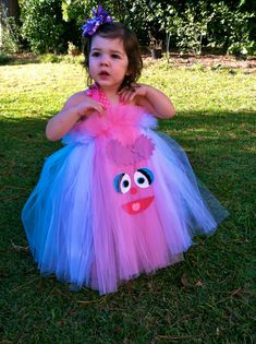 Abby Cadabby Inspired Costume Tutu Dress for dress by shoppe3130 $35.00  sc 1 st  Pinterest & Sesame Street Abby Cadabby Deluxe Toddler Costume from ...