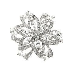 White Crystals Rhinestones White Gold by FancyGemsandFindings, $25.00 Crystal Rhinestone, Rhinestones, Retro Vintage, White Gold, Crystals, Rings, Floral, Flowers, Jewelry