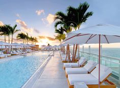 Miami's Best Rooftop Bars Are Worth Braving the Summer Heat