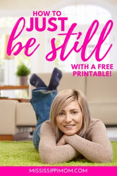 """Just be still. Psalm 46 gives us a look at how we can """"be still"""" and let God be sovereign. Christian Marriage, Christian Women, Christian Living, Jesus Girl, Let Go And Let God, Christian Resources, Sisters In Christ, Women Of Faith, Christian Encouragement"""