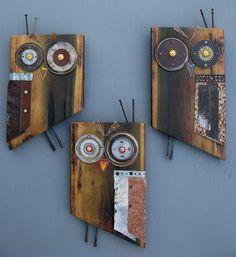 Greg Corman Sculpture and Functional Art: Poplar owls