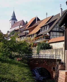 Gernsbach   Schwarzwald by ditmaliepaard, via Flickr