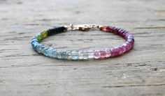 Hey, I found this really awesome Etsy listing at https://www.etsy.com/listing/206461315/watermelon-tourmaline-bracelet-pink-and