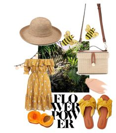 The last straw: flower power by venter-alicia on Polyvore featuring polyvore, fashion, style, American Eagle Outfitters, Forever 21, Kate Spade, Too Faced Cosmetics and clothing