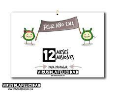 Ya está aquí el calendario más propagador del mundo: el calendario del