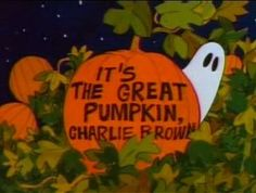 Halloween Icons, Retro Halloween, Halloween Season, Fall Halloween, Happy Halloween, Charlie Brown Halloween, Great Pumpkin Charlie Brown, It's The Great Pumpkin, Halloween Wallpaper Iphone