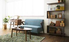 コンパクトソファーで北欧風カフェスタイルのひとり暮らしコーディネート家具・インテリア通販のNOCE