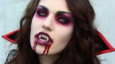 Costume: Vampire Makeup.