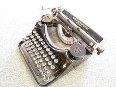 1930s Underwood Universal Portable Typewriter by ToEverySeason, $225.00