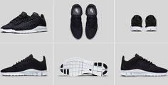 Nike Free Inneva Woven Colour: Black/ANTHRACITE-SUMMIT WHIT