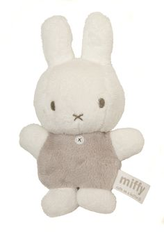 Miffy Mini Baby Squeaker Soft Toy : Based on the Miffi character this adorable little squeaker soft toy is as cute as a button and a great gift or toy for a new baby. Carnival Of The Animals, Teddy Bear Gifts, Miffy, All Things Cute, Bear Toy, Toy Craft, Cute Icons, Toy Store, Plushies
