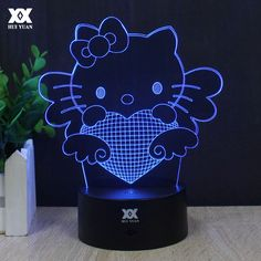 Cool Super Car Acrylic 3d Lamp 7 Color Change Small Night Light Baby Color Lights Led Usb Desk Lamp Atmosphere Night Decor A40 Led Lamps