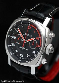 Another ferrari watch Best Watches For Men, Amazing Watches, Beautiful Watches, Cool Watches, Ferrari Watch, Panerai Watches, Pink Watch, Fossil Handbags, Expensive Watches