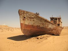 Intelligent engineering and planning brings (some) life back to the Aral Sea / Boing Boing