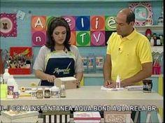 Ateliê na Tv - Tv Século - 10-10-12 - Bau com Palha