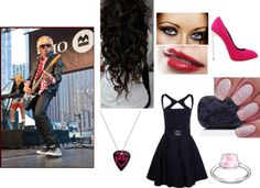 """Date with Ross Lynch"" by applesaucealysia ❤ liked on Polyvore"