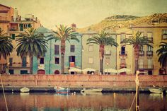 Bosa by the river by Allard Schager, via 500px
