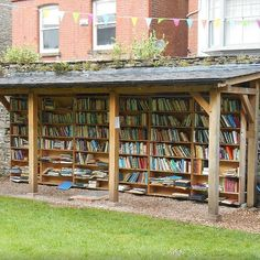 Honesty Bookshop at Hay Castle, Hay-on-Wye | 19 Magical Bookshops Every Book Lover Must Visit